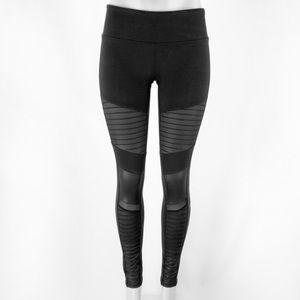 ALO black Moro leggings